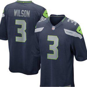 Mens Seattle Seahawks Russell Wilson Nike 3 Jersey